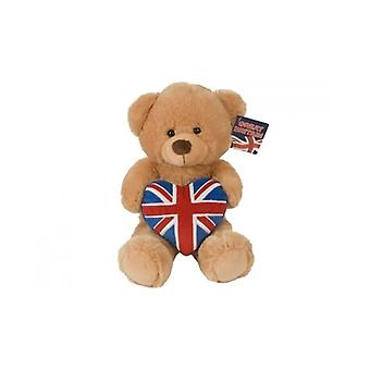"Union Jack Wear 12"" Deluxe Union Jack Bear"