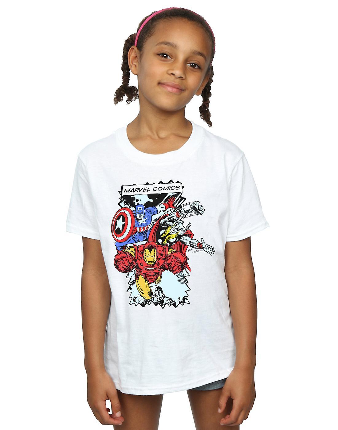 Marvel Girls Comic Characters T-Shirt