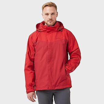 New Peter Storm Men's Full Zip Long Sleeve Lakeside 3-in-1 Jacket Red