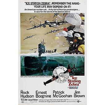 Ice Station Zebra Movie Poster (11 x 17)