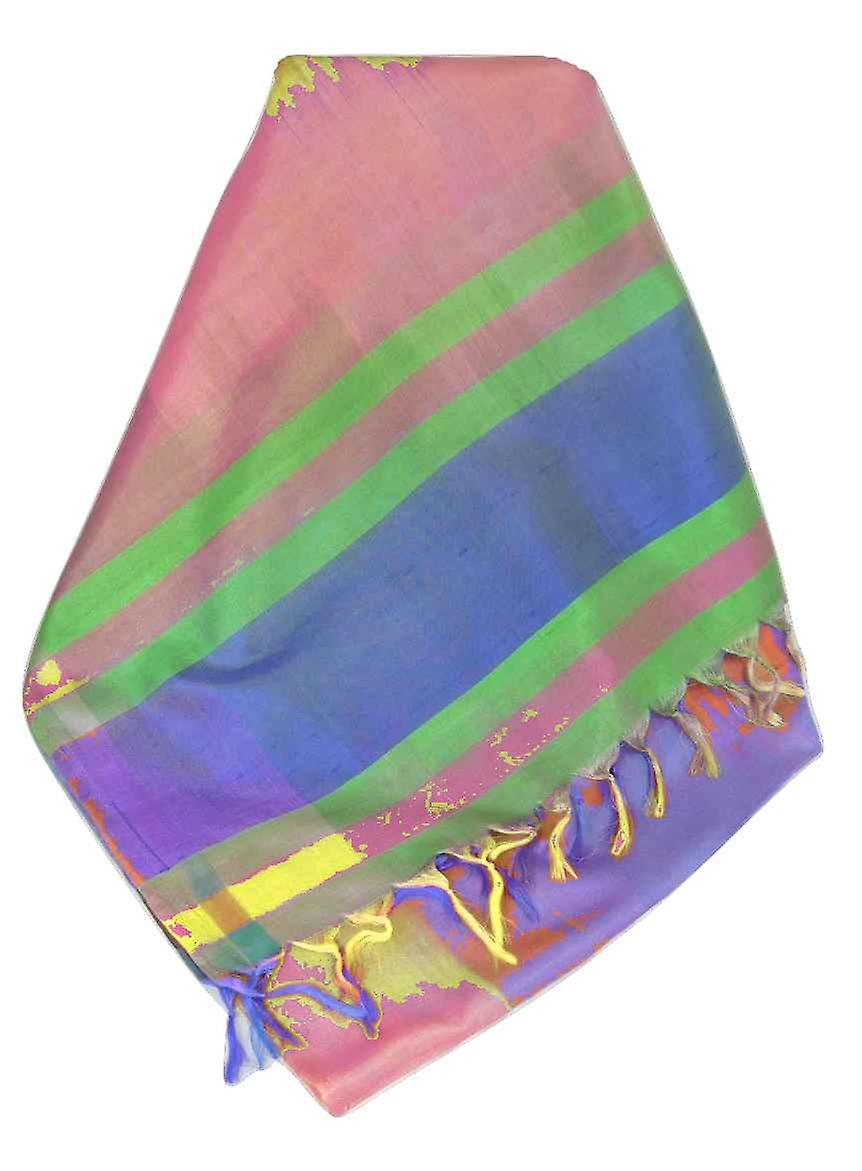 Varanasi Ekal Premium Silk Long Scarf Heritage Range Arun 5 by Pashmina & Silk