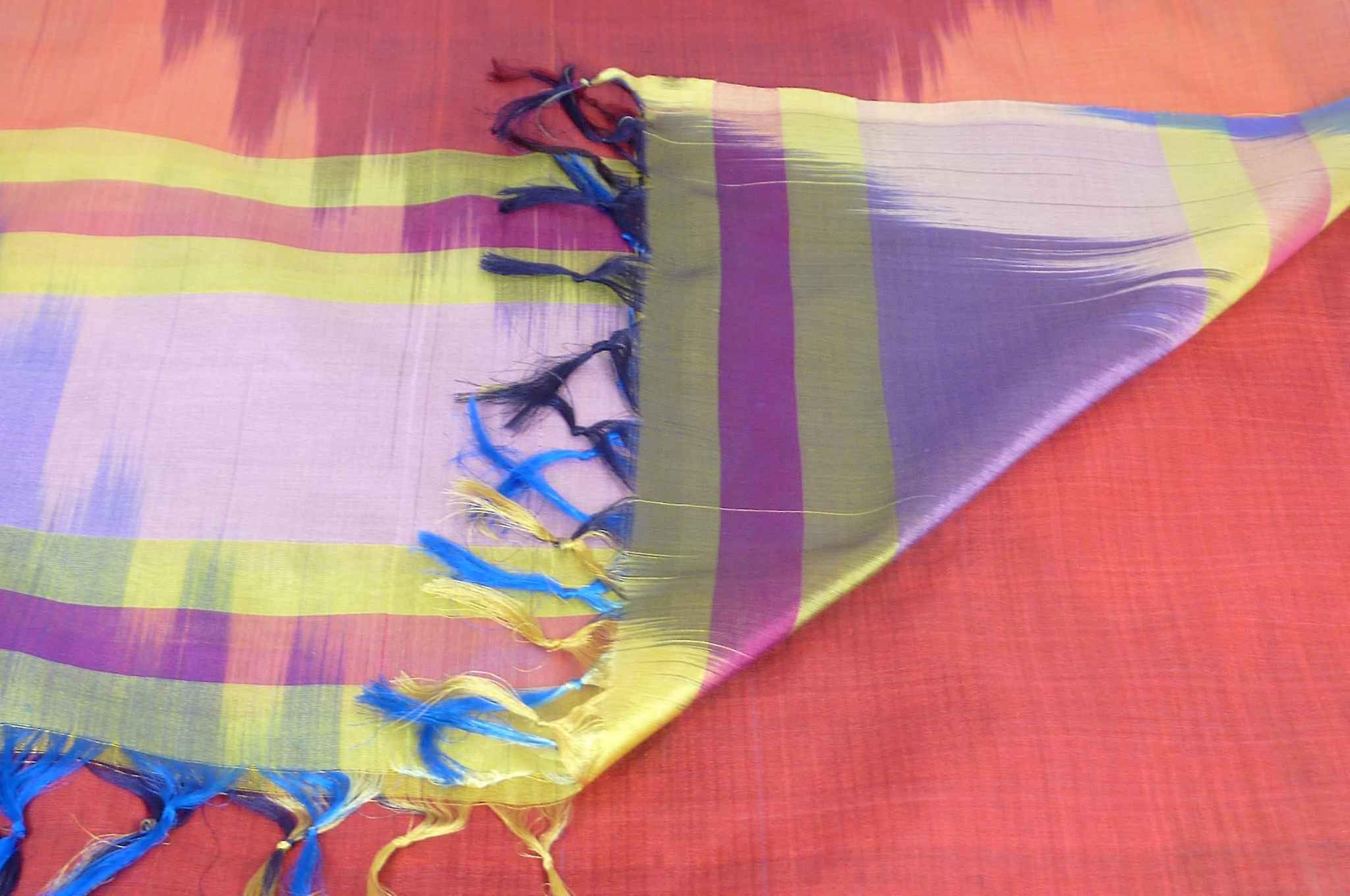 Varanasi Ekal Premium Silk Long Scarf Heritage Range Nath 2 by Pashmina & Silk