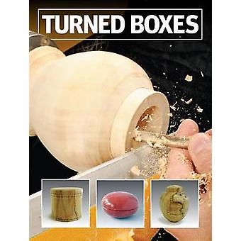 Turned Boxes - 40 Inspiring Boxes by Expert Makers by GMC Editors - 97