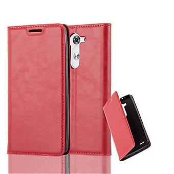 Cadorabo Case for LG G3 MINI / G3 S Case Cover - Phone Case case with magnetic clasp, stand function and card compartment – Case Cover Case Case Case Case Case Book Folding Style