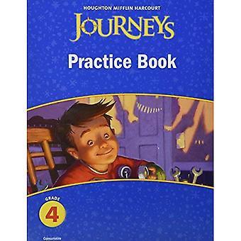 Viajes: Práctica libro consumibles grado 4 (Houghton Mifflin Harcourt viajes)