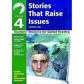 År 4 historier som stiller spørsmål: Teachers' ressurs for guidet lesing (White Wolves: problemer)
