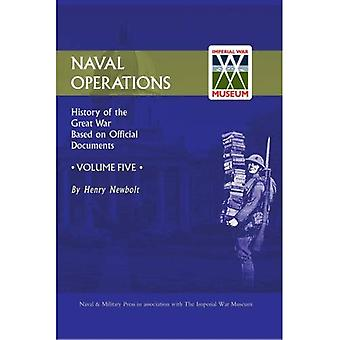 Official History of the War: Naval Operations: v. 5