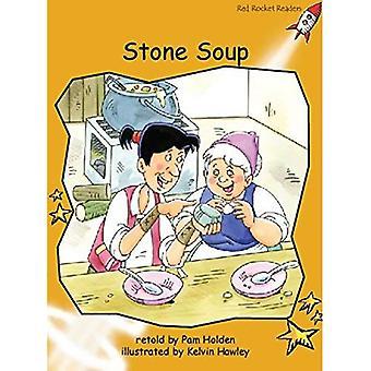 Stone Soup: Nivå 4: flyt (röd raket läsare: Fiction uppsättning A)