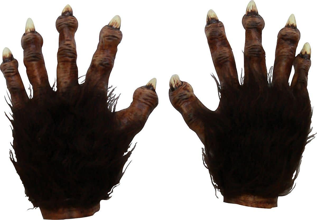 Wilk lateks ręce Deluxe dla dorosłych