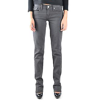 Ralph Lauren Ezbc037019 Women's Grey Cotton Jeans
