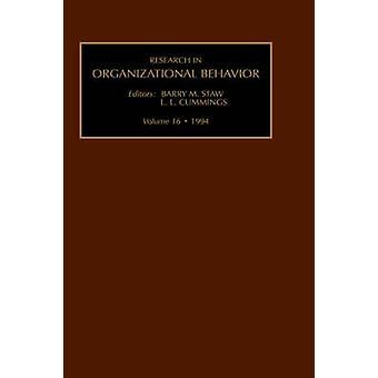 Onderzoek in Organizational Behavior een jaarlijkse reeks van kritieken van het analytische Essays door Staw & Barry M.