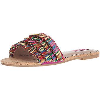 Betsey Johnson Womens Venus Open Toe Casual Slide Sandals
