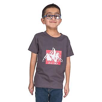 Trespass Boys Noa Nopea Dry lyhythihainen graafinen T-paita