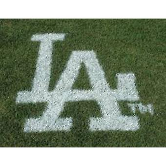 Los Angeles Dodgers Lawn Logo Paint Stencil
