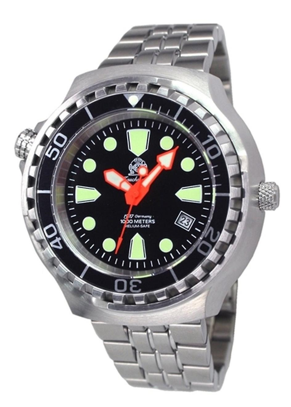 Tauchmeister Steel automatic watch 1000 m Diver Craft T0245m
