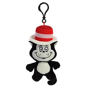 Dr. Seuss Cat In the Hat Plush Bag Clip