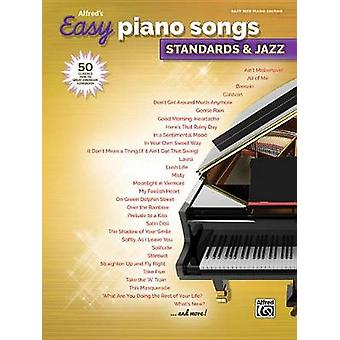 Alfred's Easy Piano Songs -- Standards & Jazz - 50 Classics from t
