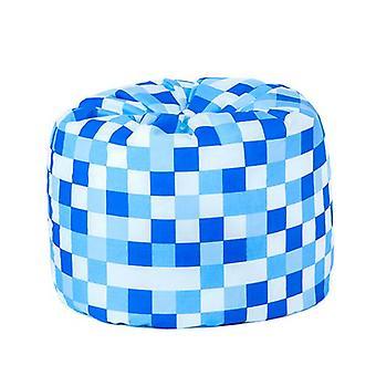 Kinderen ' s pixels blauw ontwerp gevuld klassieke Bean Bag