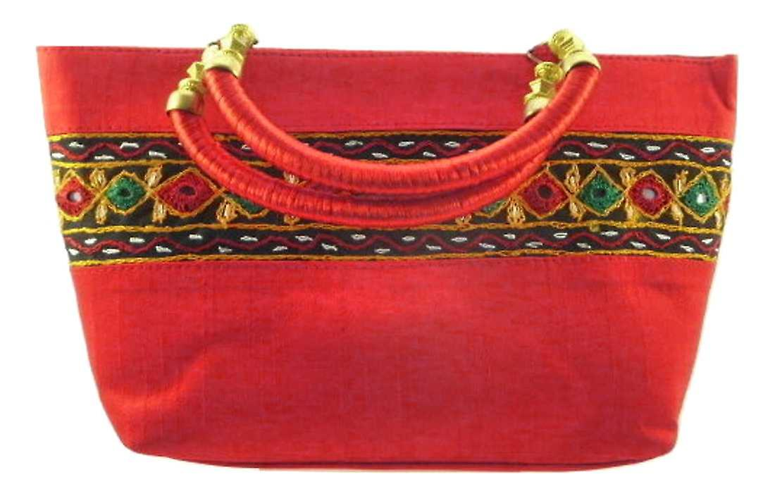 Silk Handbag Divya 03 Silk Sauvage at Pashmina & Silk