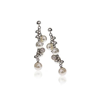 Belle Etoile Pearl Dangle Earrings 03030810101