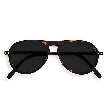IZIPIZI #i Tortoise Aviator With Grey Lenses Sunglasses