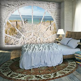 Fototapetti - Window View - Beach