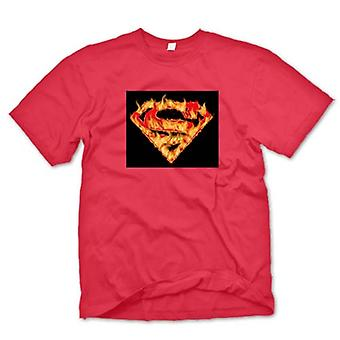 Kids T-shirt - Superman - Flame Logo