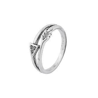 Intrige Womens/Ladies Vintage Look Pfeil Ring