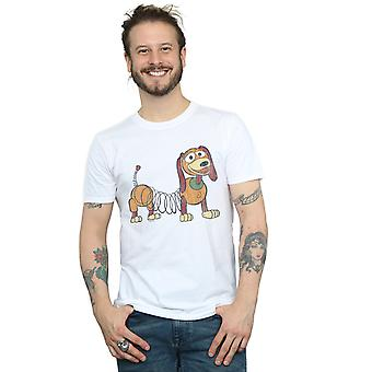 Disney Men's Toy Story 4 Slinky Pose T-Shirt