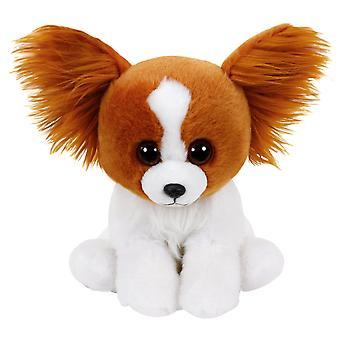 TY Classic Barks bruine hond met glitter ogen hond gevuld dierlijke pluche zachte 24cm