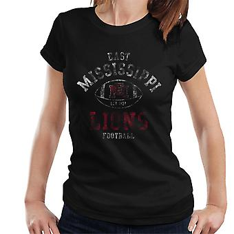 East Mississippi Community College Light Football Lions Women's T-Shirt