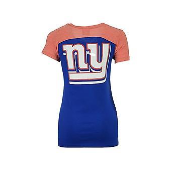 New York Giants NFL 5th & Ocean Double Pass Tee