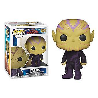 Pop! Marvel: Captain Marvel - Talos
