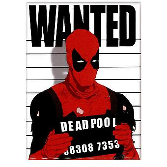 Deadpool Wanted Magnet