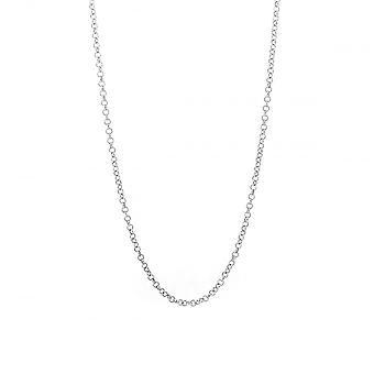 Eternity Sterling Silver 18 ' ' micro boeren ketting