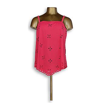 Fit 4 U Handkerchief Laser Cut Tankini Top avec Rose A291317