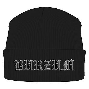 Burzum Beanie Hat Cap band Logo Official New black