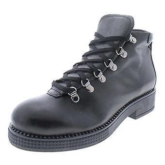 Steven by Steve Madden Womens Demi Combat Boots Leather Closed Toe Ankle Comb...