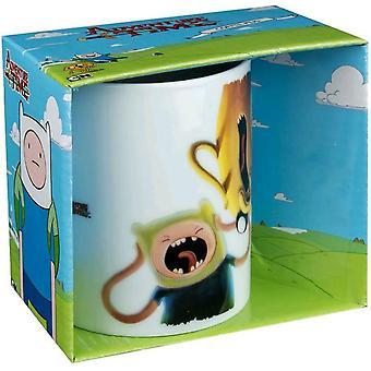 Adventure Time No-one Can Hear You Scream Coffee Mug