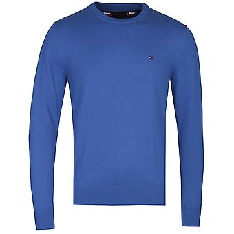 Tommy Hilfiger Luxury Touch Electric Blue Crew Neck Pullover