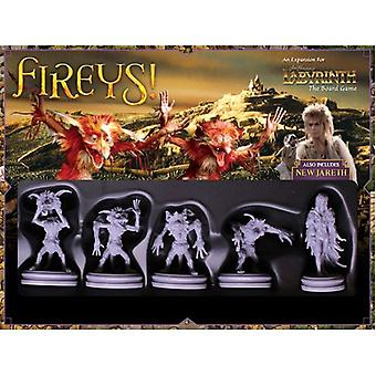 Fireys! Labyrinth Expansion Pack for Board Game