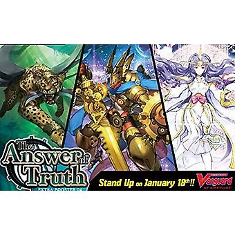 CFV The Answer of Truth Extra Booster Display Box 12 Packets (Pack of 12)
