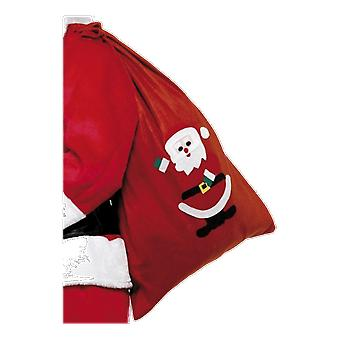 Red Santa's Toy Sack Back Christmas Fancy Dress Accessory