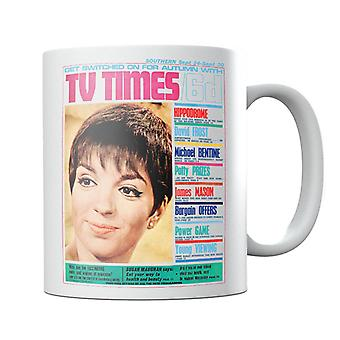 TV Times Liza Minnelli 1966 Cover Mug