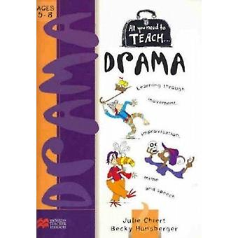 All You Need to Teach Drama Learning Through Movement Improvisation Mime and Speech Ages 58 par Julie Chiert et Becky Hunsberger