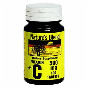 Nature's blend vitamin c, 500 mg, tablets, 250 ea