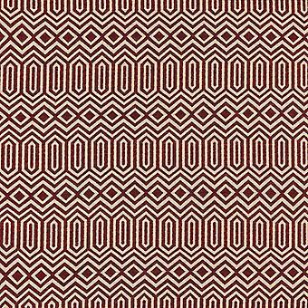 Mcalister textiles colorado tissu rouge géométrique