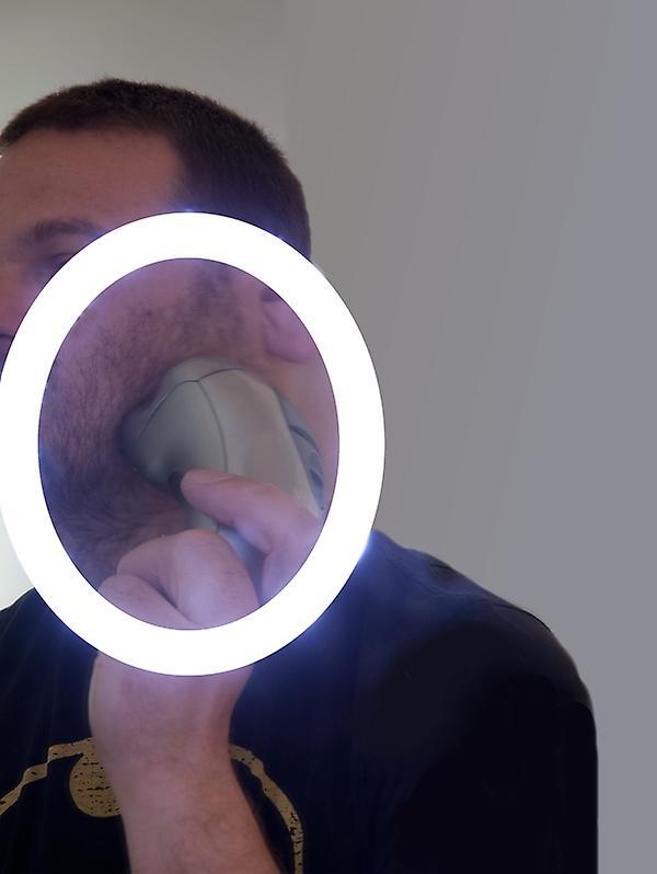 Miroir de salle de bains RGB Shaver avec Demister - Capteur K512rgb