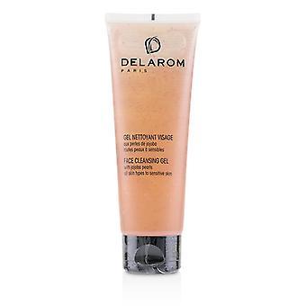 Delarom Face Cleansing Gel - For All Skin Types To Sensitive Skin - 125ml/4.2oz