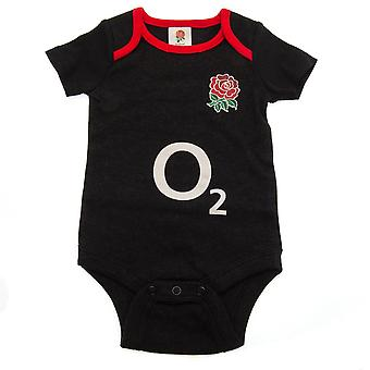 England RFU Baby Bodysuit (Pack Of 2)